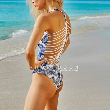 khongboon - devan reversible strappy one piece