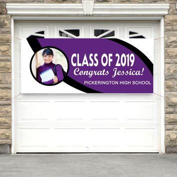 Personalized Graduation Banner - No.1200