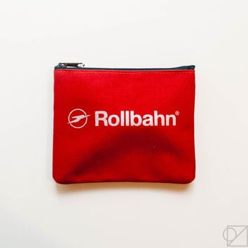 DELFONICS Rollbahn Small Canvas Pouch