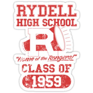 Rydell High School Alumni by Six 3