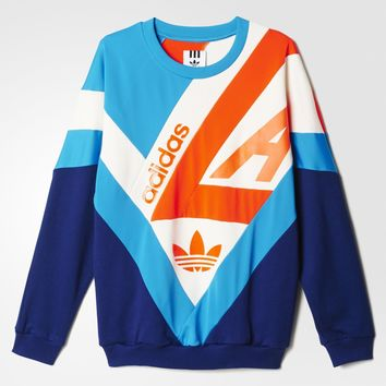 adidas Archive Sweatshirt - Blue | adidas US