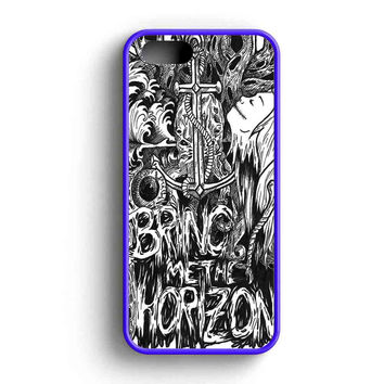 Bring Me The Horizon Girl And Leaves iPhone 5 Case iPhone 5s Case iPhone 5c Case