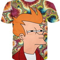 Fry Can't Tell If T-Shirt