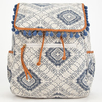 Paxton Pom Backpack Blue Combo One Size For Women 26023724901