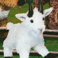 Plush Mountain Goat Stuffed Animal