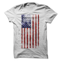 American Flag Tshirt 4th of July Tee USA Funny Independence Day Shirt Drinking Beer America Tees