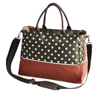 Clermont Shoulder Diaper Bag by Baby in Motion