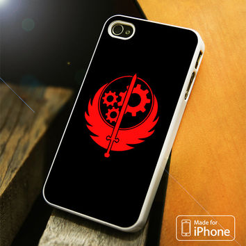 Fallout Weapon Red iPhone 4 5 5C SE 6 Plus Case