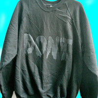 Dont Clothing Slime 90's Oversized Jumper