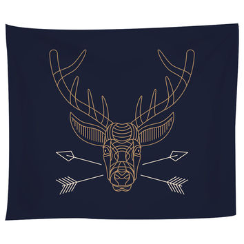 Hello Deer Tapestry