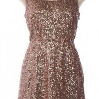 The Sit and Glisten Dress