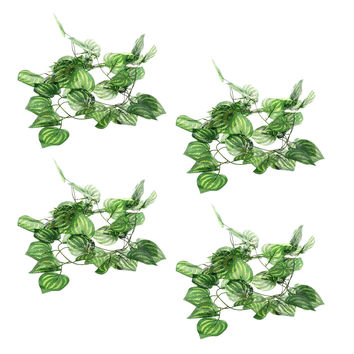 Reptile Terrarium Amphibian Artificial Acrylic Fruit Vines 4pcs/bag