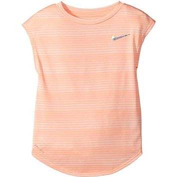 Nike Kids Stripe Heather Gradient Dri-FIT Tee (Toddler)