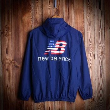 new balance windbreaker hip hop sports rashguard jacket
