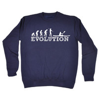 123t USA Evolution Kayak Funny Sweatshirt