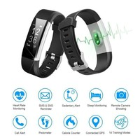 ONETOW LETSCOM Fitness Tracker HR, Activity Tracker with Heart Rate Monitor Watch, IP67 Waterproof Smart Wristband with Calorie Counter Watch Pedometer Sleep Monitor for Kids Women Men