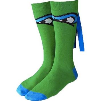 Teenage Mutant Ninja Turtles Leonardo Crew Socks