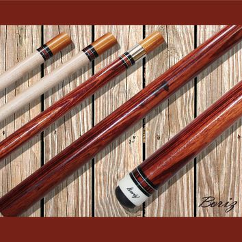 Boriz Billiards Pool Cue Stick Classic Style with Joint Protectors AB 782
