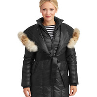 Rudsak Sophie Coyote Fur Hooded Coat