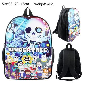 Anime Backpack School Undertale Backpack kawaii cute Teenager Boys Girls Book Bag Children School Bags Women Laptop Backpack Gift AT_60_4