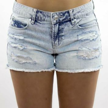 Articles Of Society | Madre Denim Short in Stewart