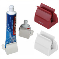 New Arrival Bathroom Set Accessories Rolling Tube Tooth Paste Squeezer Toothpaste Dispenser + Tooth Brush Toothbrush Holder