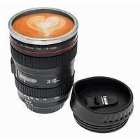 Unique Camera Lens Coffee Mug Gift F