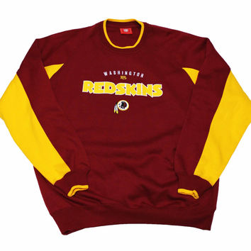 Vintage Washington Redskins NFL Crewneck Sweatshirt Mens Size Large