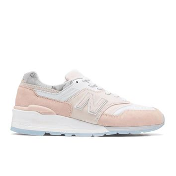 New Balance - Made in USA 997 (M997LBH) - White / Pink