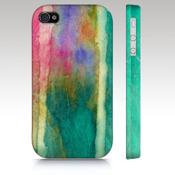 Artistic iphone 5 case, iphone 4 case, iphone 4s case, watercolor painting, modern art, abstract art for your phone