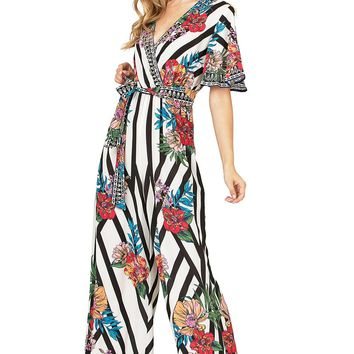 Meadow Stripe Jumpsuit