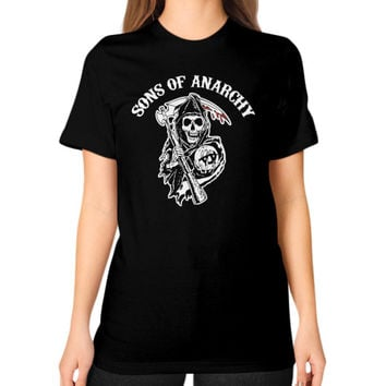 SONS OF ANARCHY Unisex T-Shirt (on woman)