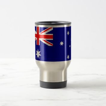 Travel Mug with Flag of Australia