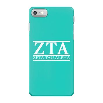 zta zeta tau alpha iPhone 7 Case