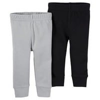 Baby Boys' 2 Pack Pants Black/Grey - Just One You™Made by Carter's® : Target