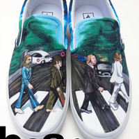 Custom Vans- The Beatles Abbey Road