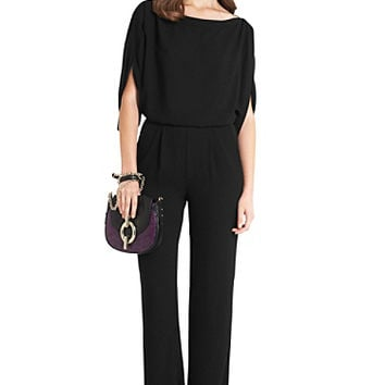Lucy Silk Jumpsuit