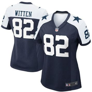 Women's Dallas Cowboys Jason Witten Nike Game Jersey