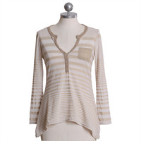sandy bliss striped pocket top - $36.50 : ShopRuche.com, Vintage Inspired Clothing, Affordable Clothes, Eco friendly Fashion