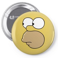 homero Pin-back button