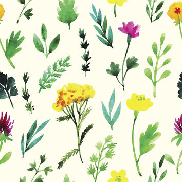 Fantastic Flora Removable Wallpaper