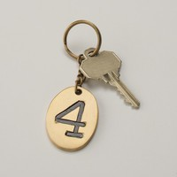 Number Keychain