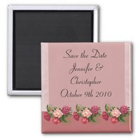 Dusty Rose Save the Date
