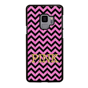 VICTORIA'S SECRET PINK CHEVRON Samsung Galaxy S3 S4 S5 S6 S7 Edge S8 S9 Plus, Note 3 4 5 192