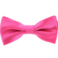 Tok Tok Designs Pre-Tied Bow Tie for Men & Teenagers (B7, Pink)