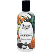 Nourish Organic Body Wash - Tropical Coconut - 10 fl oz