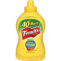 French's: Classic Yellow Mustard Condiment, 20 Oz - Walmart.com