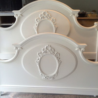 "French Provincial Queen Bed by Lexington ""Chez Michelle"""