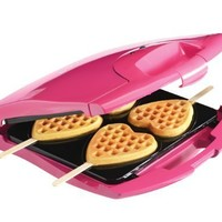 Babycakes Nonstick Waffle Maker Makes 4 Heart Waffles on Sticks:Amazon:Kitchen & Dining