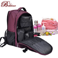 Update multifunctional baby nappy bag baby diaper bag bolsa maternidade mummy maternity diaper bag handbag shoulder bag Backpack